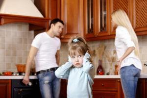 как развестись с женой если есть дети